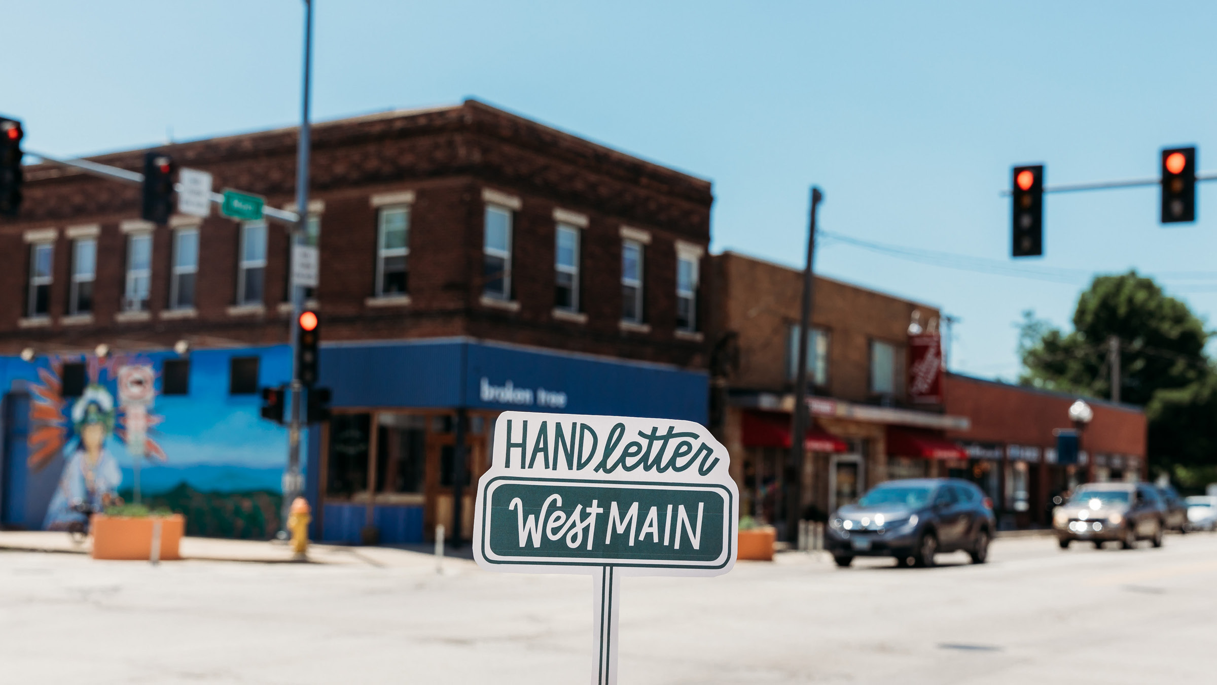 Hand Letter West Main  was a passion project born out of a desire to take action in the community, showcase my skills, and start a conversation. And it did just that.