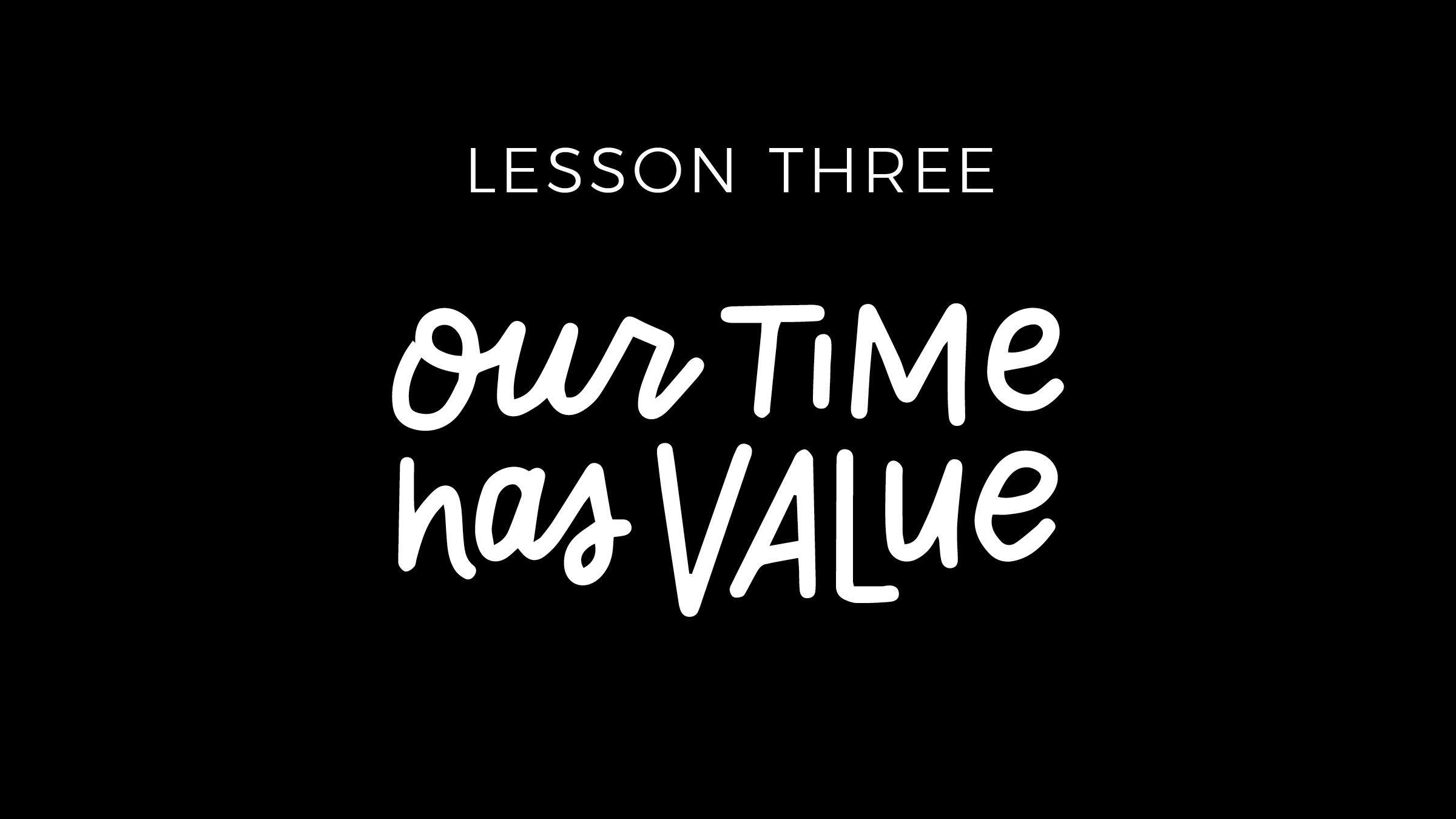 This lesson takes a bit of time to realize because often when we start a business, we have time and little money. And we don't fully grasp how valuable our time is because, well, it hasn't gotten that valuable just yet. But once you realize this, there is no going back. You can start to evaluate how your time is best spend and what provides the most value to both yourself and others.