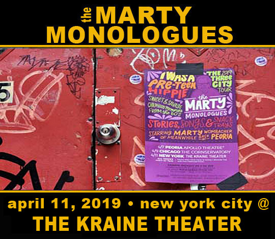 Marty Monologues Show