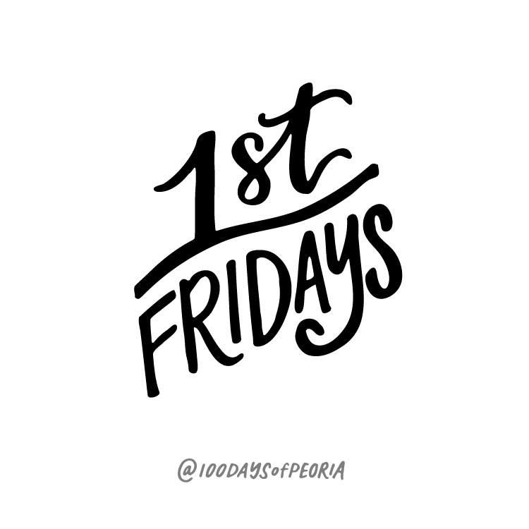 100DaysofPeoria - First Friday Illustration