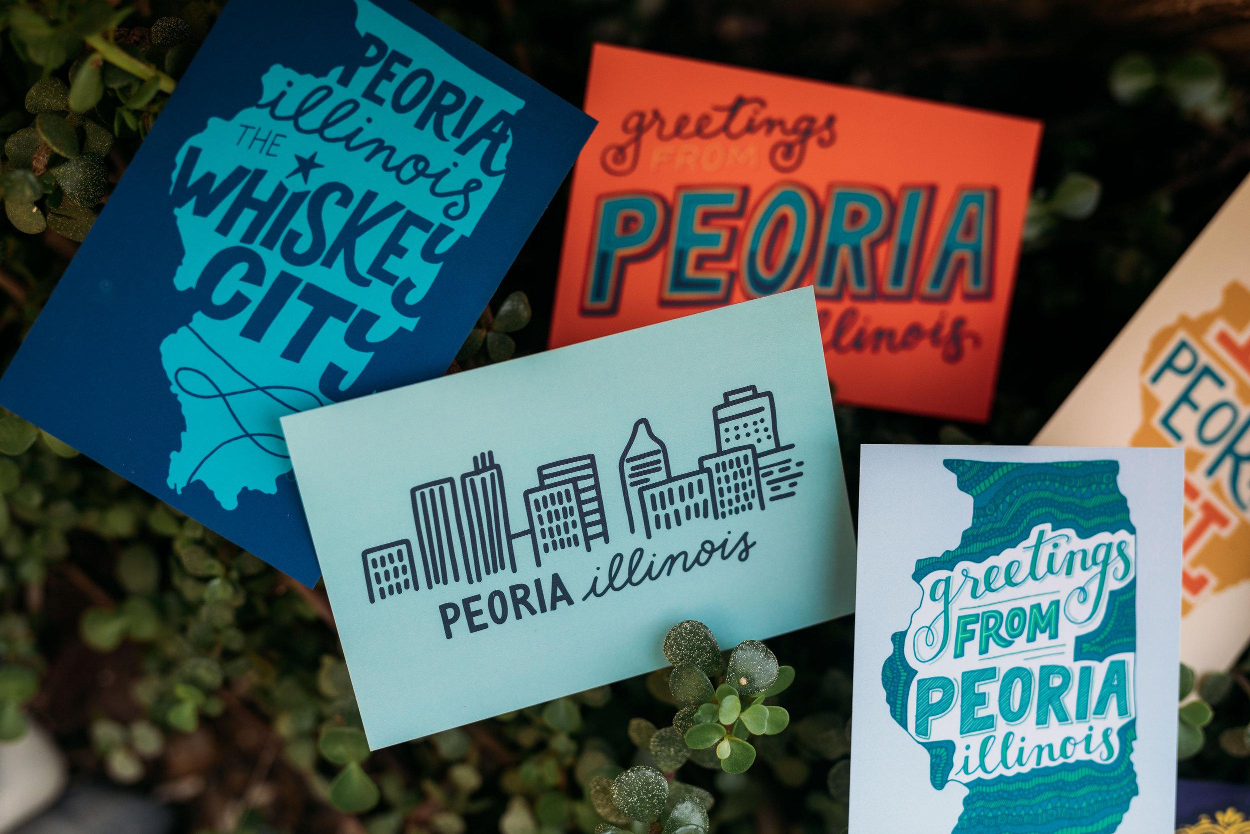 Peoria Postcards