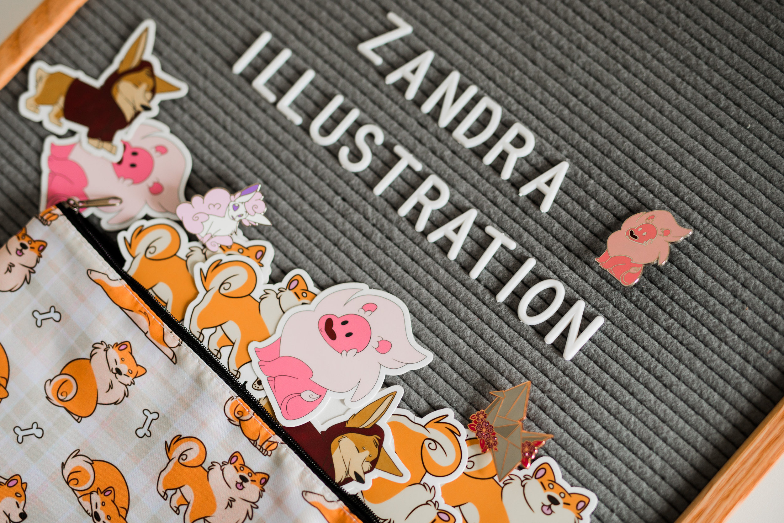 Zandra Illustration Products