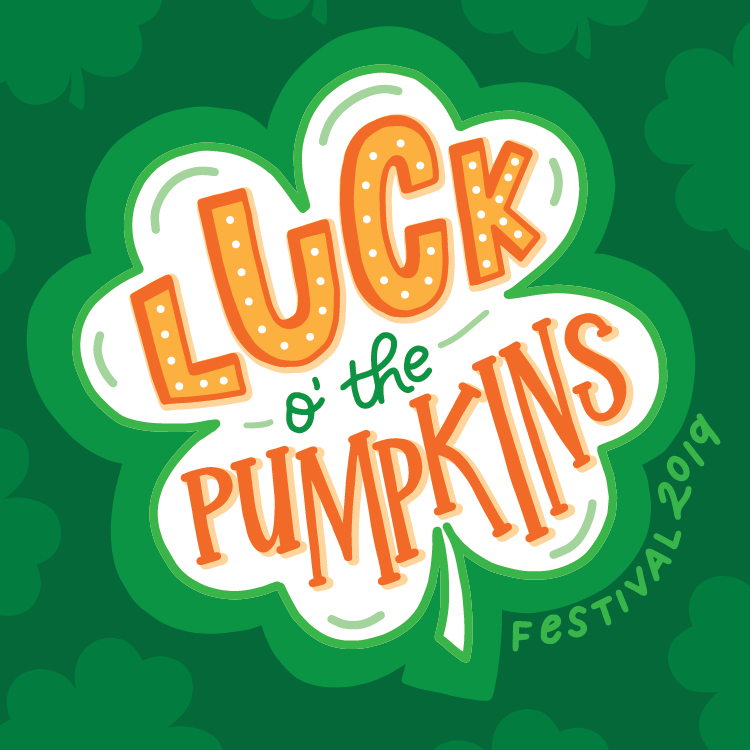 Luck of the Pumpkins - Custom Design for Morton Pumpkin Festival