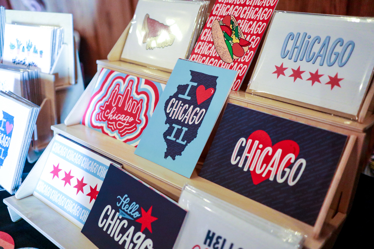 Lettering Works Chicago Style Postcards + Greeting Cards
