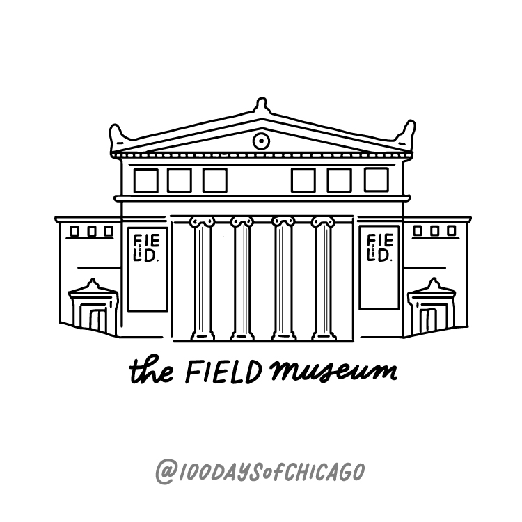 The Field Museum - Building Illustration