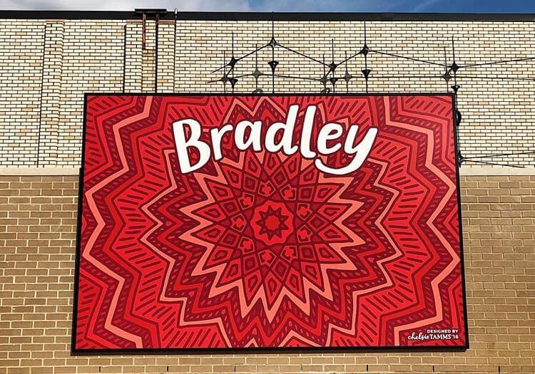 Bradley Mural design by Chelsie Tamms