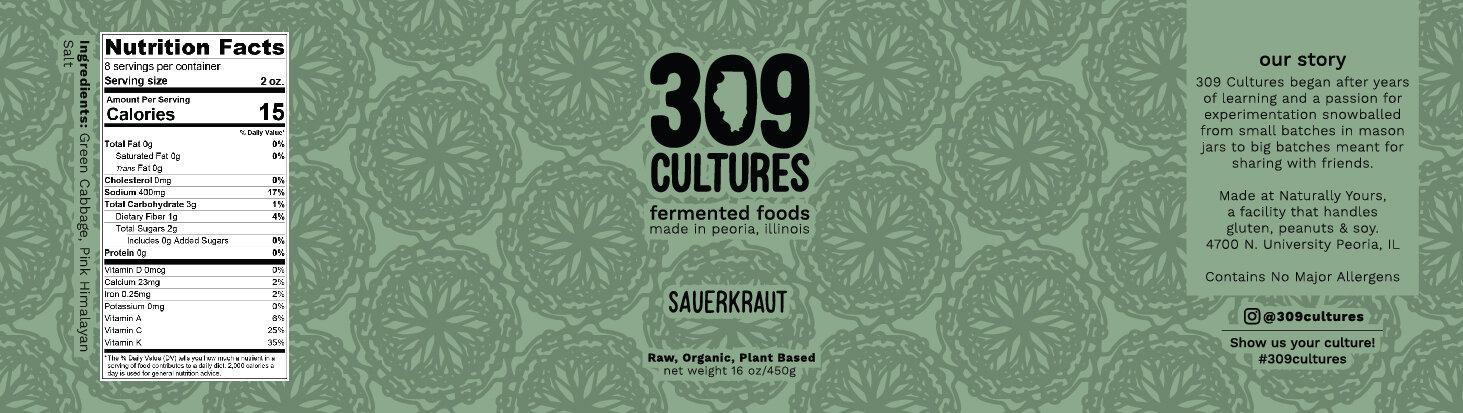 Sauerkraut Label design