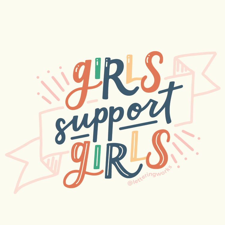 GIRL POWER COLLECTION - The newest Girl Power Collection combines the best of Lettering Works and Unpolished Press into one, ultimately promoting positivity around females and supporting each other. Bright colored stickers carefully designed to inspire girls everywhere.