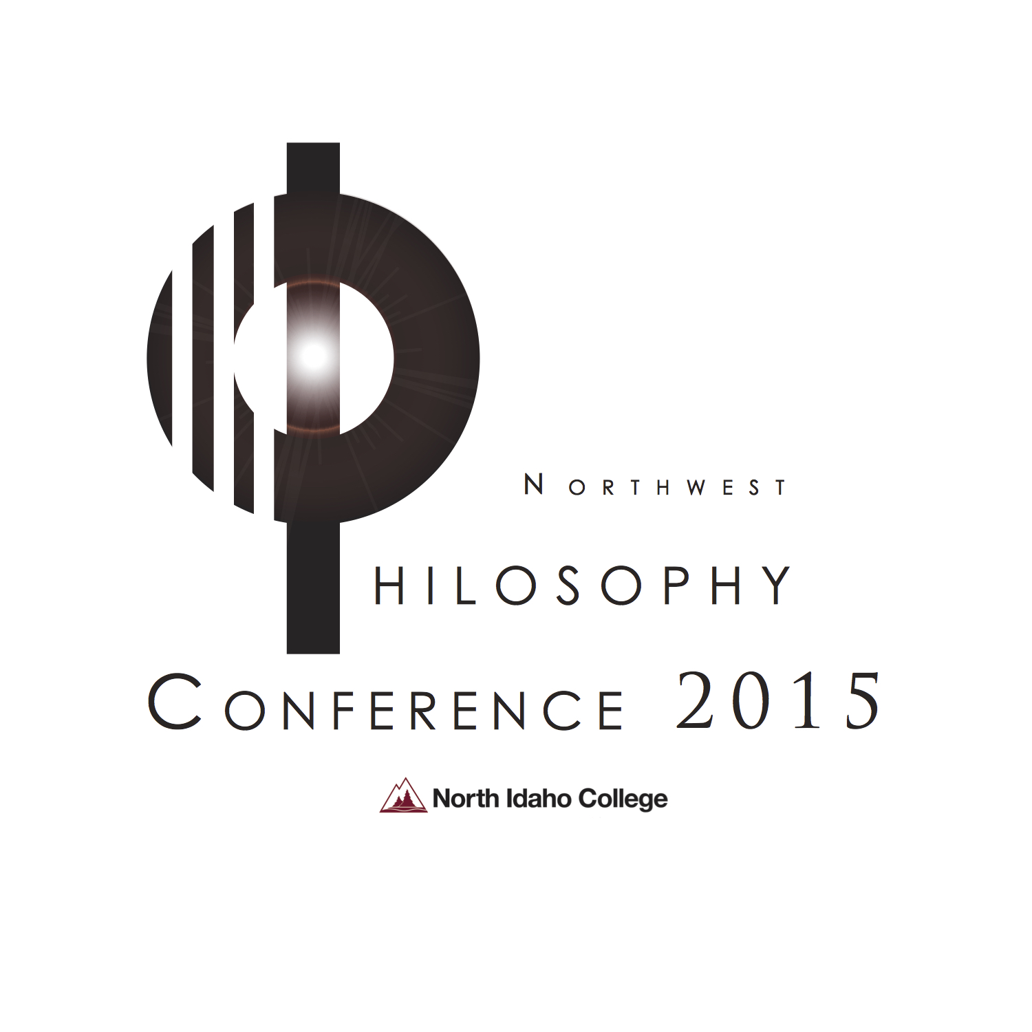 Logo for Northwest Philosophy Conference at North Idaho College.