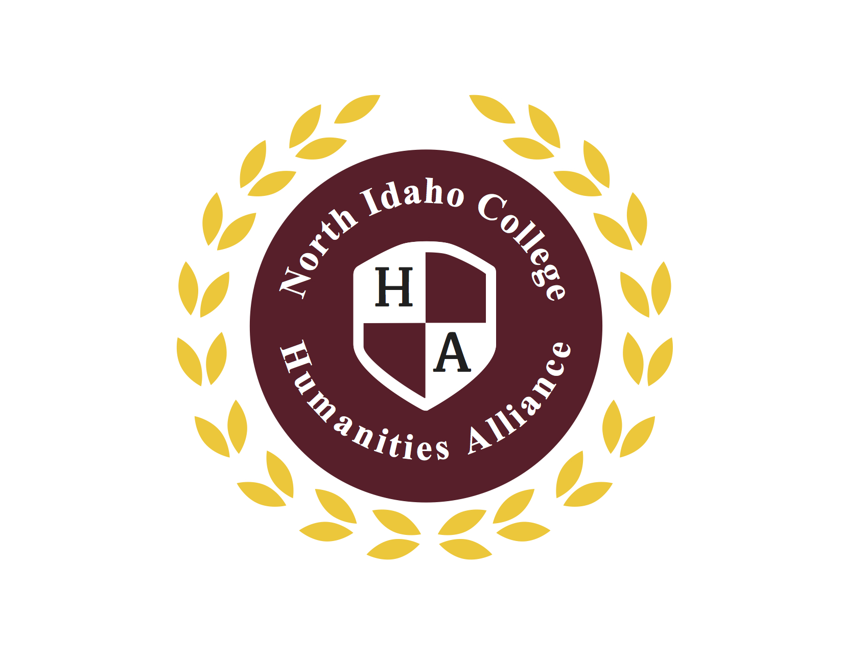 Logo for North Idaho College Humanities Alliance.