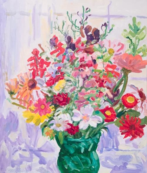 Blaine, Midsummer Flowers, 1990.jpg