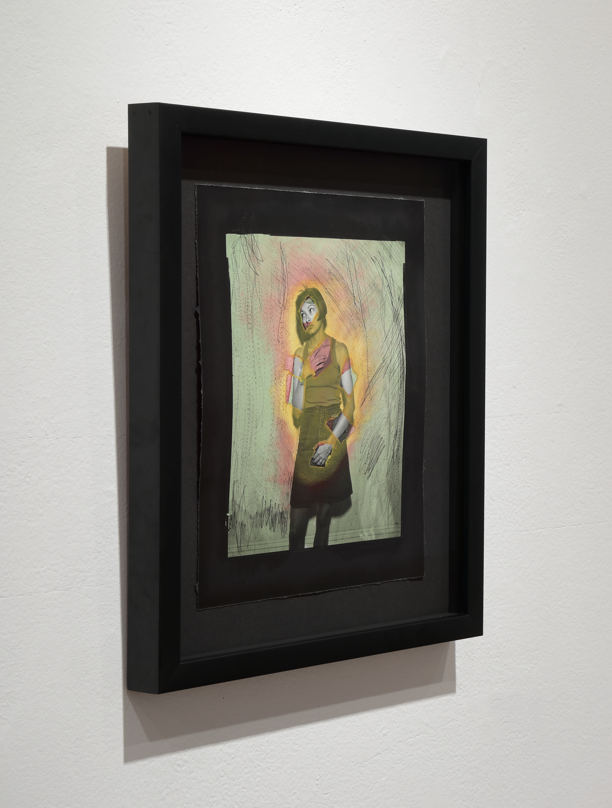 Cindy Neuschwander,   Untitled,  1985  Photograph with mixed media  Courtesy Jay Barrows, photo by David Hunter Hale