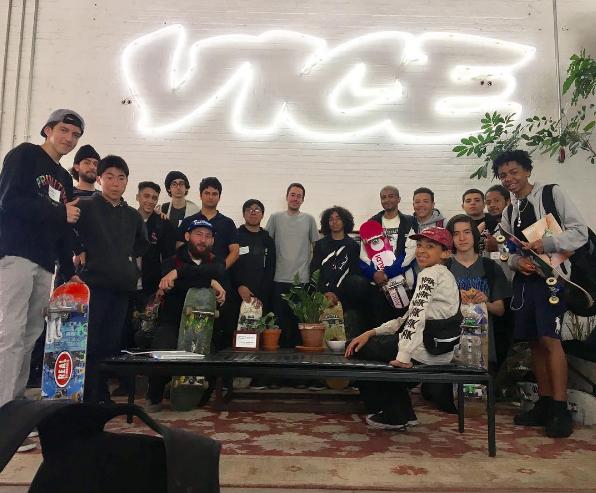 Visiting VICE headquarters