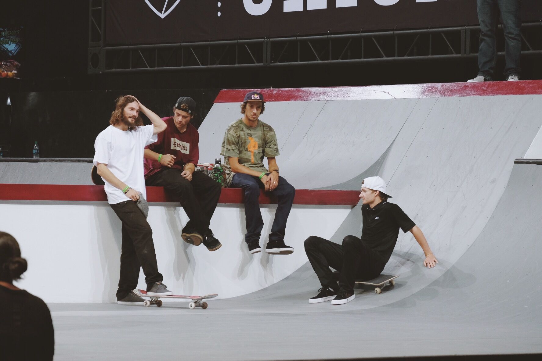 Skaters at SLS Chicago