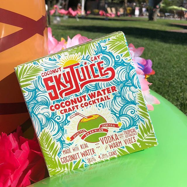 Summer Sunday Sunsets pair perfectly with SkyJuice. Grab a case! #drinkskyjuice #gethere