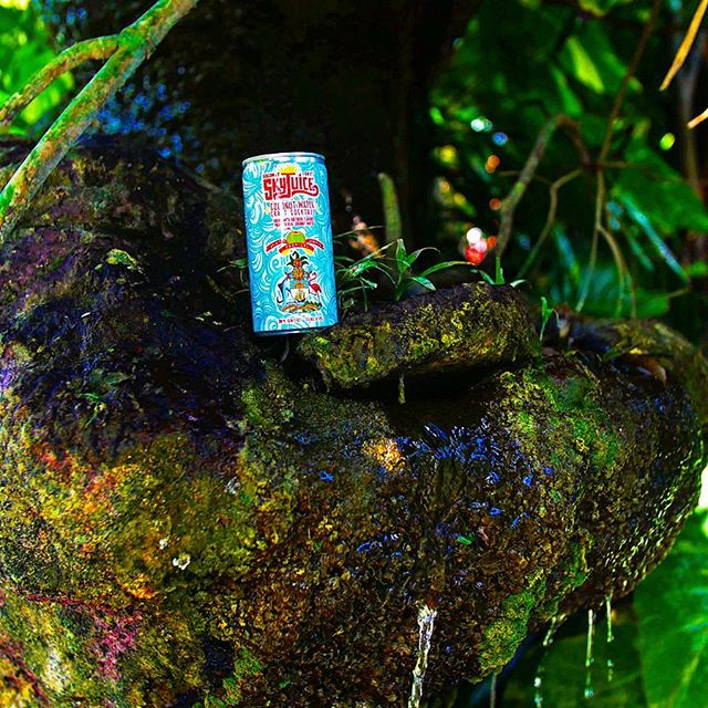 Don't go chasing waterfalls...or do. We don't judge. #drinkskyjuice #gethere