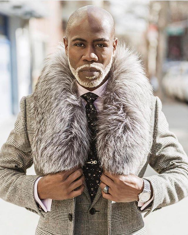 "#tbt ""What's cooler than being cool? ICE COLD! @andre3000 I @theweltheguy wearing @welthenyc 📷: @weltheimages #mensstyle #mensstyleguide #mensfashionblog #mensfashionpost #mensfur #menssuits #mensstyleblog #blackmenwithstyle #blackmenwithbeards #dappermen #mensdesigner"