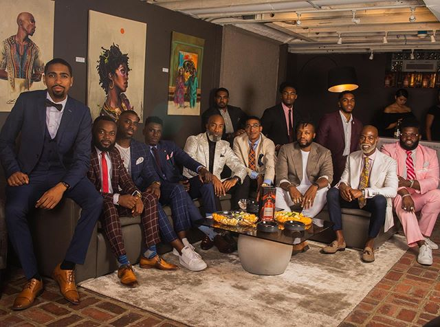 Last weekend, I got the opportunity to participate in @blackmenswear Philly Dapper Conversation powered by @damari_savile and @hennessyus 🙏🏾 I spent that evening with a group of intelligent, conscious, well-dressed leaders to discuss black culture, style and what we can do to further the narrative of WE (Black Men) look like this too and it's ok for YOU (Black Man) to look like this as well. But more importantly, we (Black Men)ARE like this in real life and it's ok for YOU (Black Man) to be too.  Thank you to @blackmenswear for being a catalyst for change. Thank you to @damari_savile for opening up your beautiful space to us. Thank you to @hennessyus for the libations (I love a good dark liquor). Last but not least, thank you to all the leaders that took part in the conversation. Not only did you converse, you are also taking ACTION by being the change you want to see. My People! I love y'all ✊🏾@theweltheguy ✊🏾#BlackMensWear #changethenarrative #themovement #bethechange #dappermen #dapperconversations #blackmenwithstyle #stylishblackmen #blackleaders #changeagents #melaninpoppin