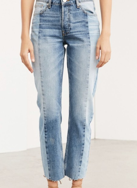 Urban outfitters wide stripe jeans