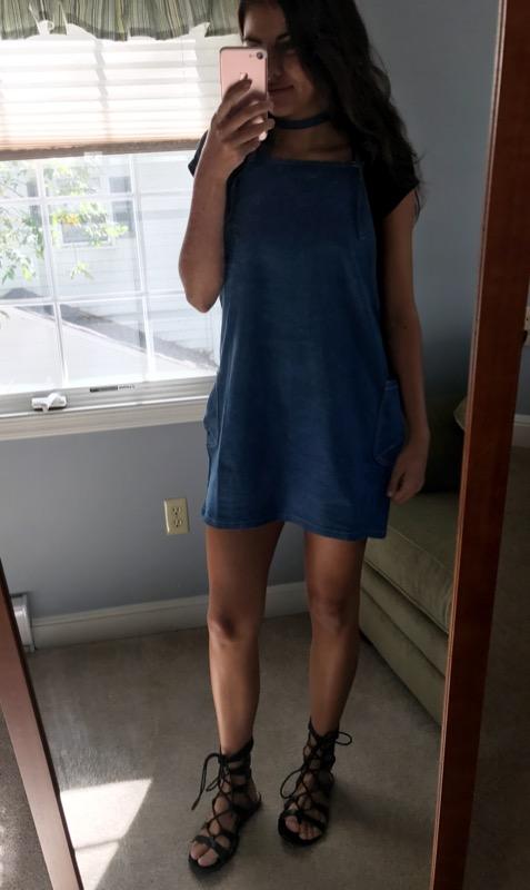 shirt / dress / shoes