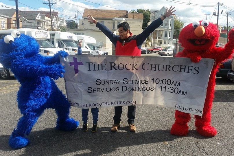Evangelism - Every person deserves a chance for true happiness in Jesus! Through evangelism, The Rocks are on a mission to brighten everyone's day and save the world!