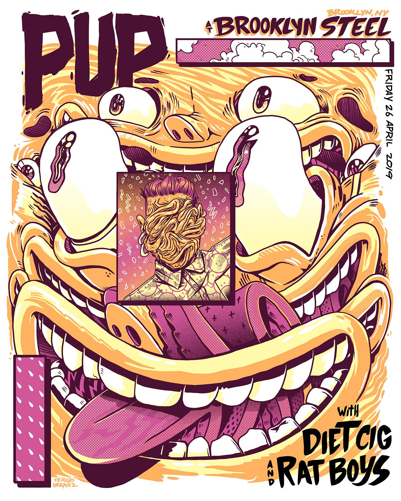 PUP Tour Poster