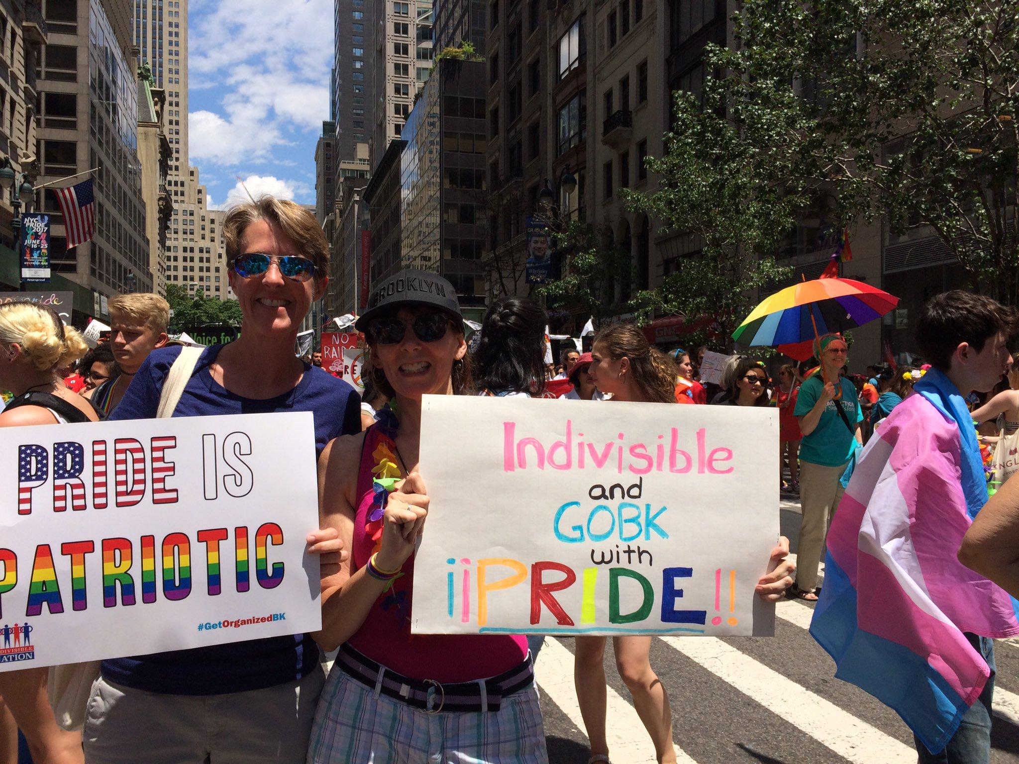 Resisting with Pride