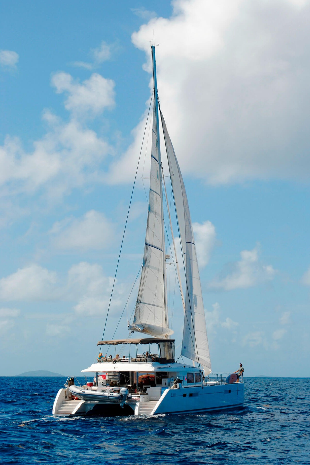 Take a ride on the largest catamaran in the Riviera Maya. This four hour shared charter is a fun way to see the Caribbean waters.