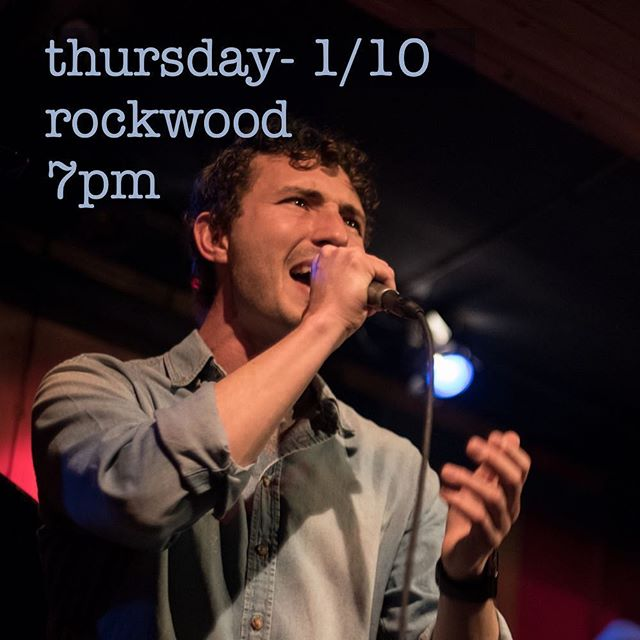 First show of 2019 next Thursday!!! Come out and listen to some of my newest creations :-) @rockwoodmusichall #singersongwriter #newmusic #lawyerbyday #soul