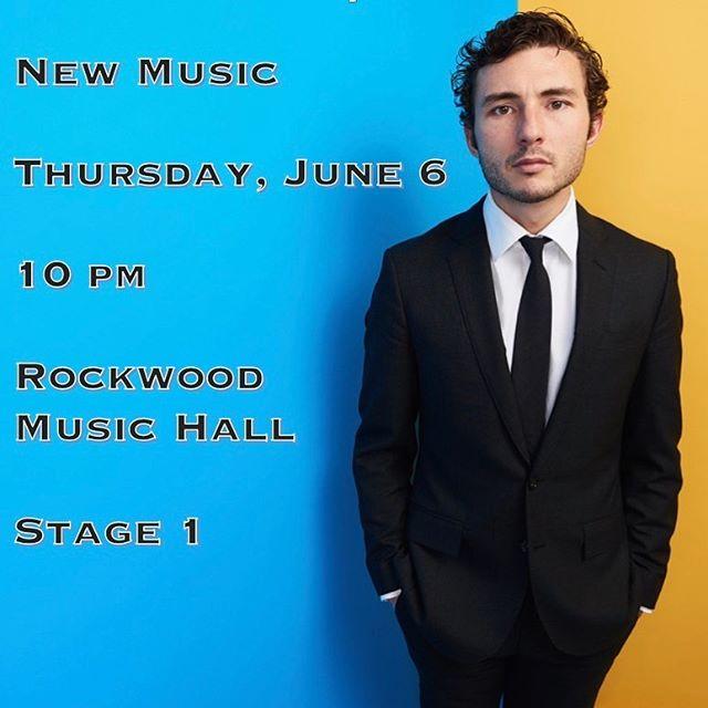 Show! #newmusic #singersongwriter #nycmusic #mancillamusic @rockwoodmusichall
