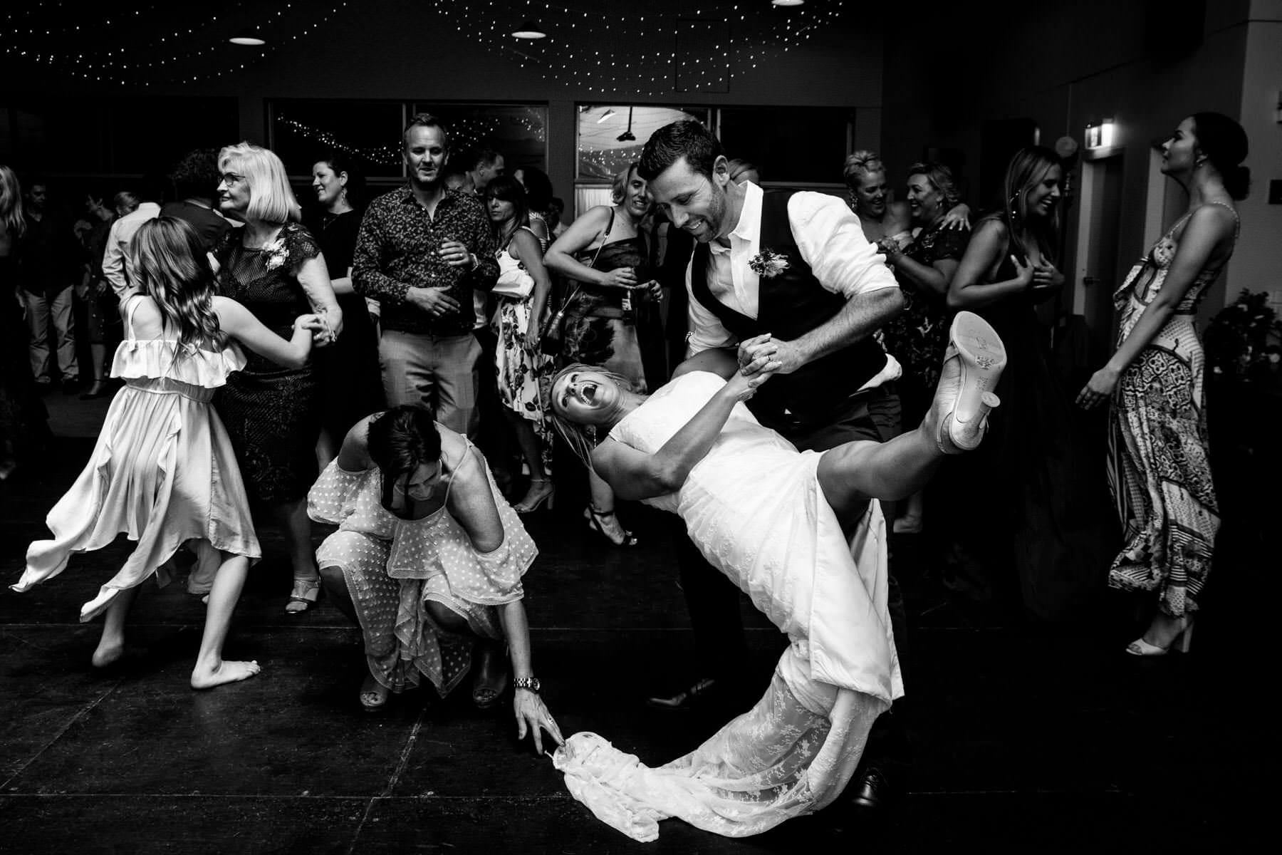 Sam Wyper Photography     Sam is a wedding photographer working in Byron Bay, Brisbane and Sydney. He loves beautiful light, stunning backgrounds, epic dance floor moves and making couples cry when they see their wedding photography slideshow.