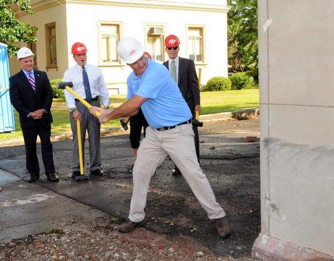 Demolition of Cornerstone
