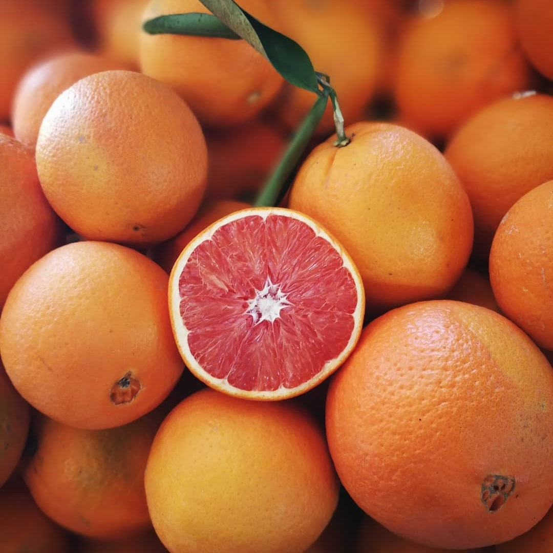 Cara Cara Navel Oranges   Thought to be a mutation of the Washington Navel, the Cara was brought to California in the 80's from Venezuela. Considered a specialty orange it is often confused as a Blood Orange.