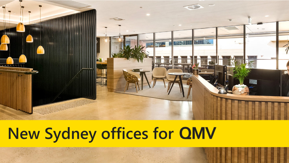 QMV's new location: Level 11, 66 Clarence Street, Sydney 2000 |  sayhi@qmvsolutions.com  | 03 9620 0707