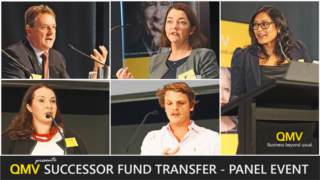 Clockwise: The Hon. Nicholas Sherry, Rose Kerlin, Wendy Colaço, Joshua Wilson, Katherine Kaspar