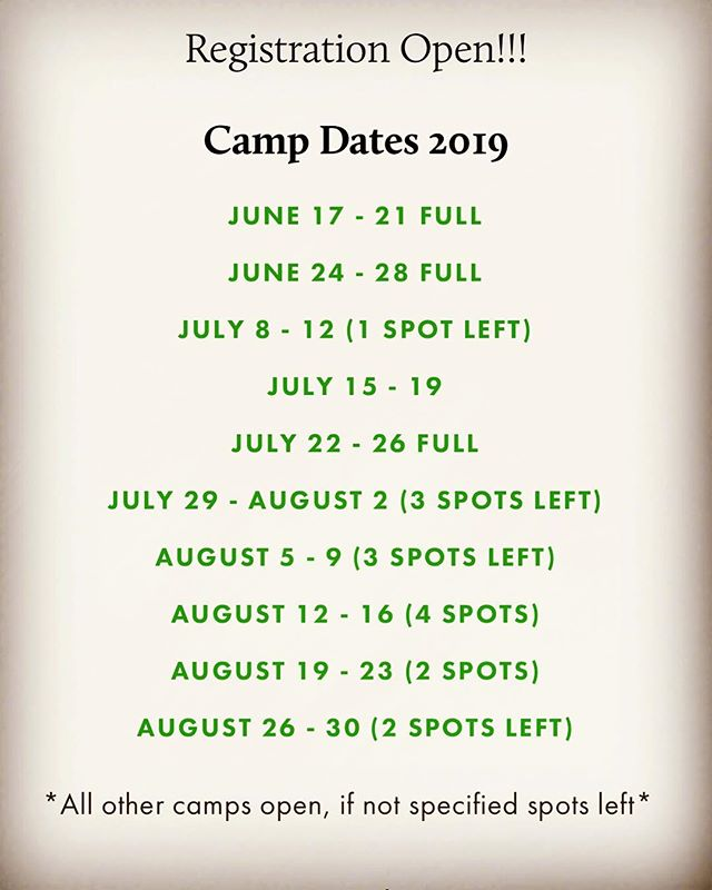 SCTC SUMMER HORSE CAMP Still looking to fill some weeks in July and August! Sign up on our website https://www.stcroixtc.com/lessons-1