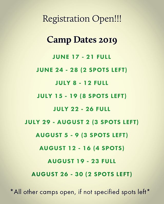 UPDATE: SCTC SUMMER HORSE CAMP  Spots available! Signup online! https://www.stcroixtc.com/lessons-1