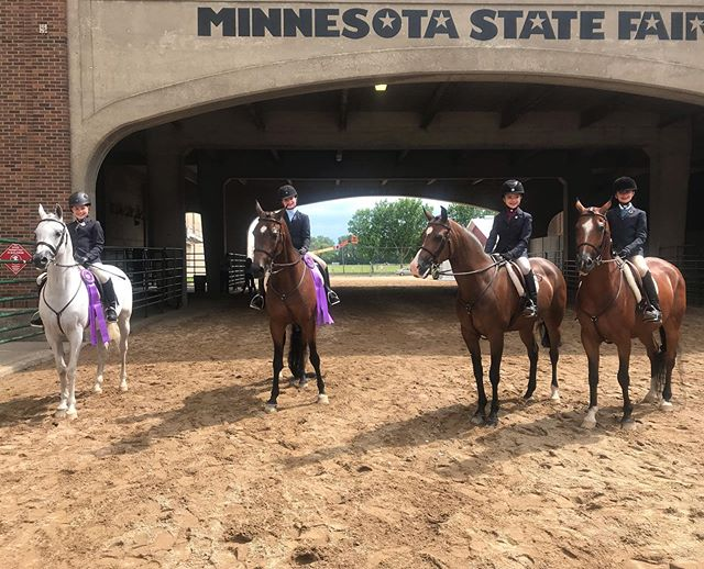 Wrapped up Region 10 with some well deserved championships and great rides! CHAMPION: Sprat and Brooke - Hunt seat Eq 15-18 Abby and Sparkle - Arabian Hunt Pl Mares/Stallions  RESERVE: Finn and Gretchen - Hunt Seat Eq 14 and under Pacino and Ellie - Walk/Jog Western Pl DC and Katherine - PB Hunt Pl JTR 15-18  TOP 5: Addison and King - Hunt seat Eq 15-18 Julia/Indy and Ellie/Finn - Walk/Trot Hunt Pl Danny and Jen - Arabian gelding halter ATH Tilly and Martha - HA CEP AAOTR