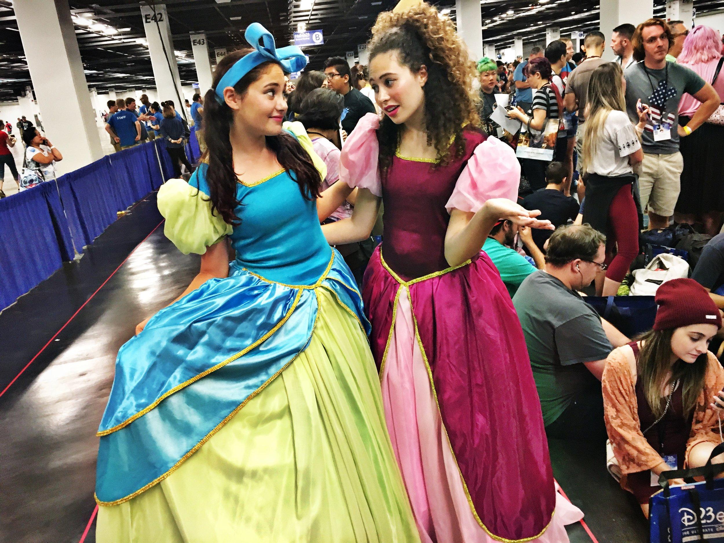 Drizella & Anastasia Tremaine