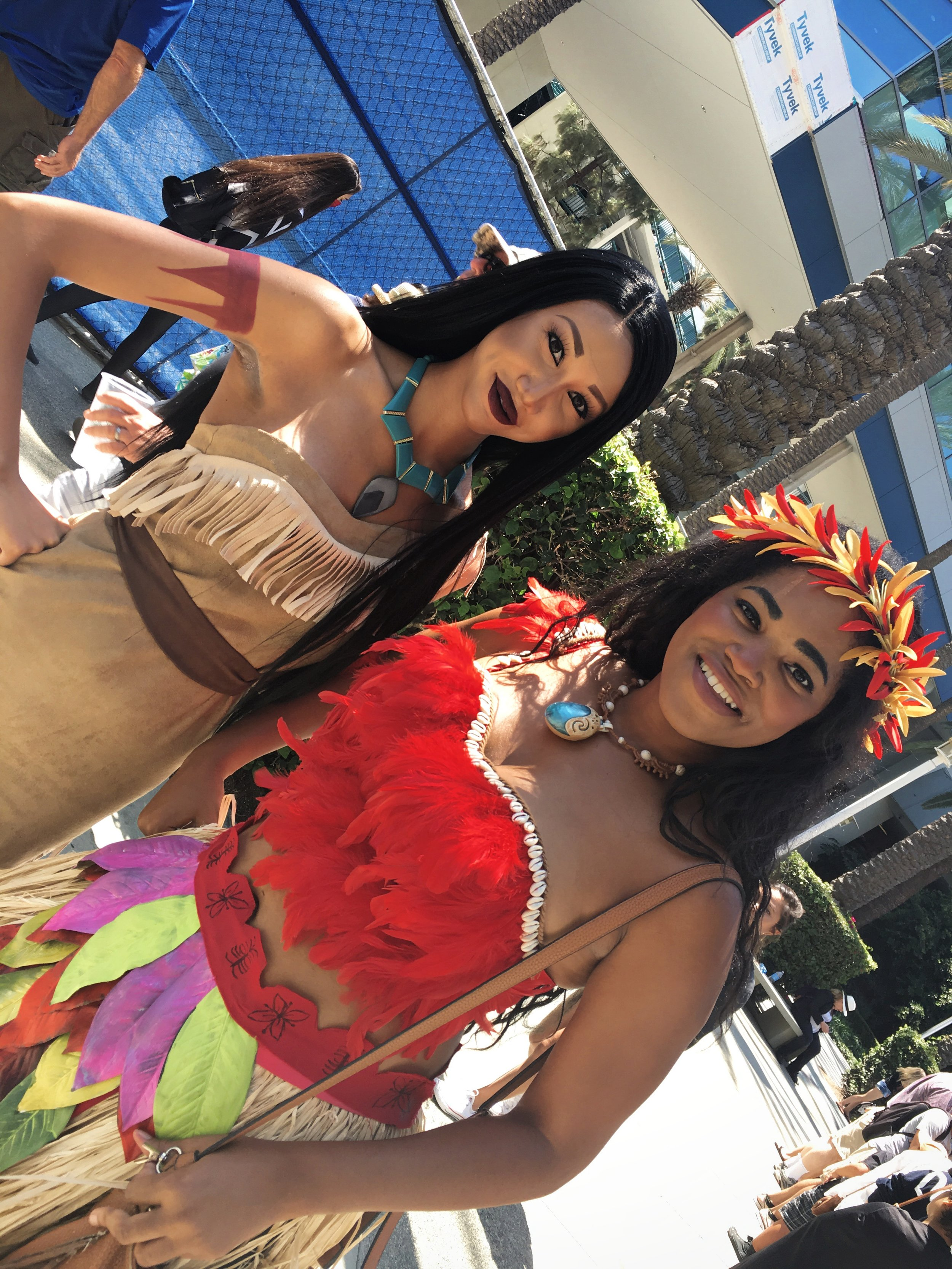 Pocahontas & Moana