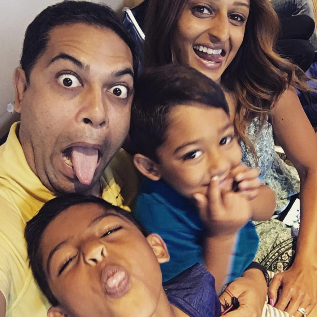 Neesha with her family | Photo: Chai Mommas blog