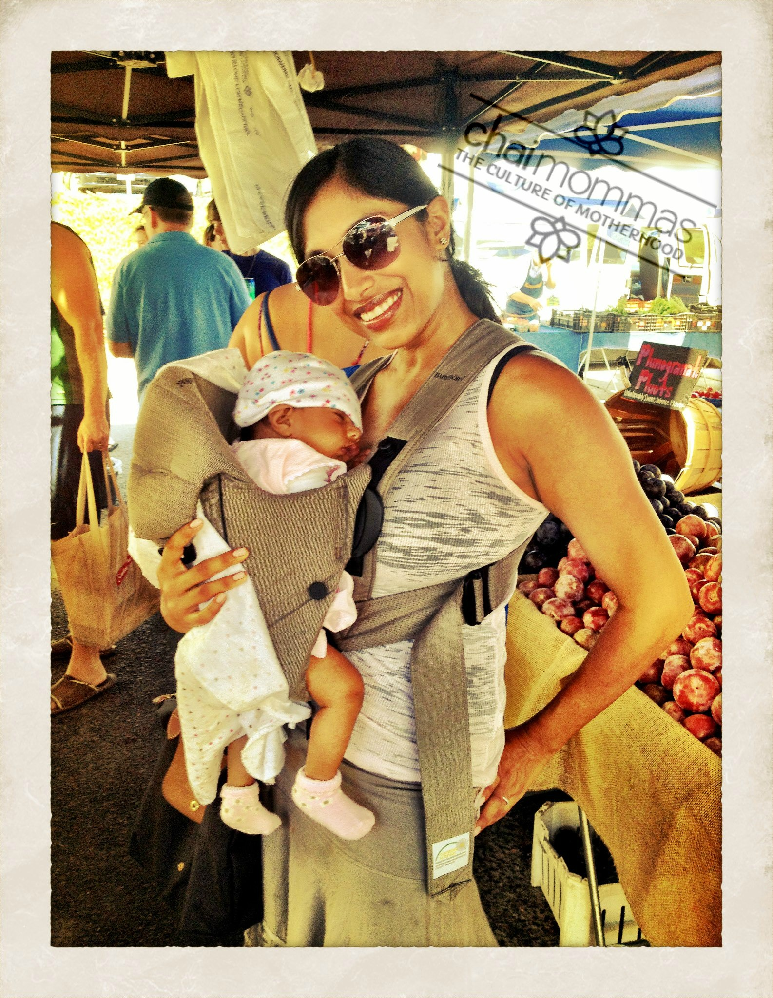 Puja with her baby | Photo: Chai Mommas Blog