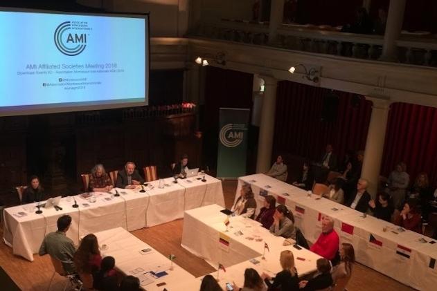 AMI 國際蒙特梭利年會 (2018,荷蘭)