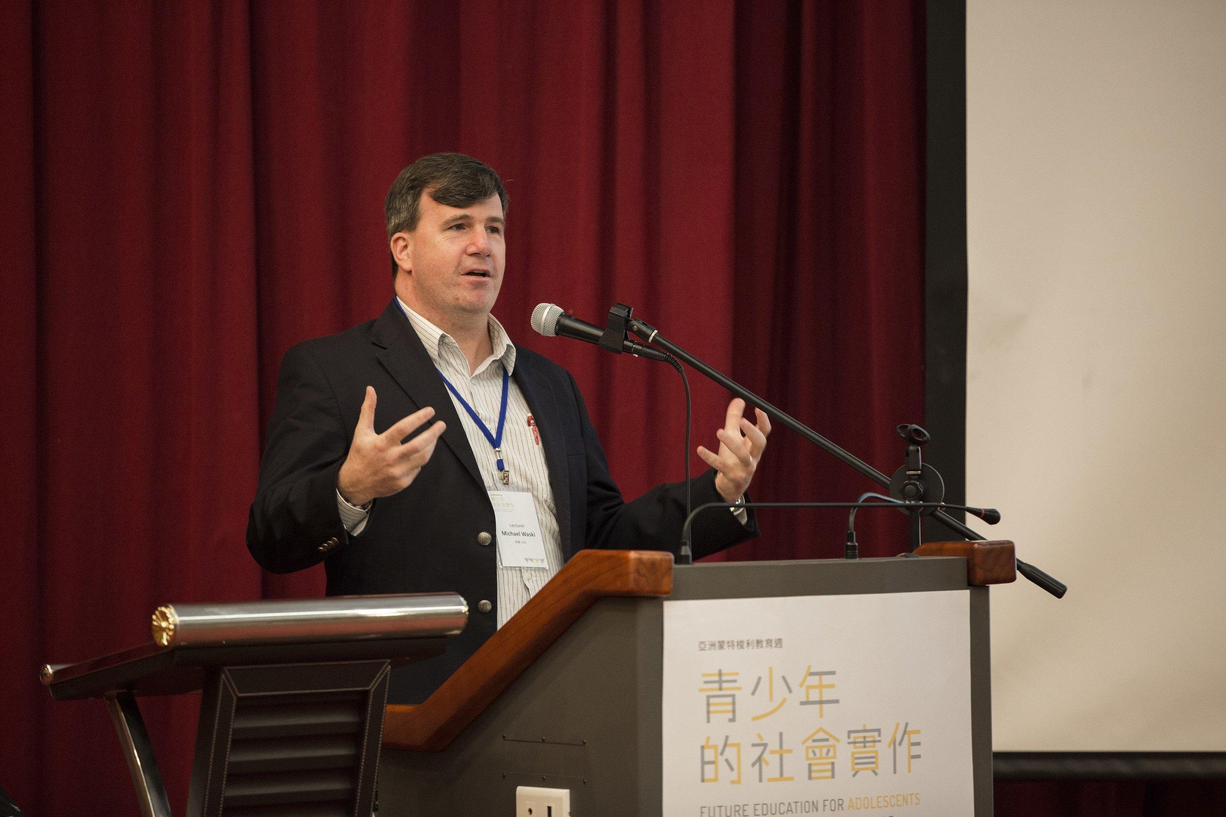 講者Michael Waski.JPG
