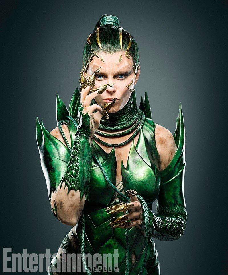 Primera imagen de Elizabeth Banks como Rita Repulsa en la pelicula de Power Rangers.