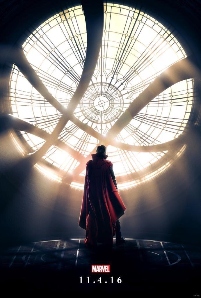 El Doctor Strange ya tiene poster.