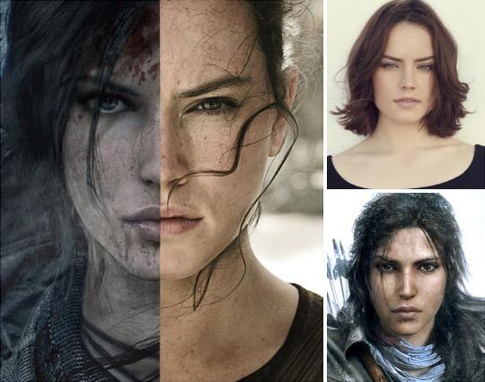 Daisy Ridley confirma que esta en negociaciones para interpretar a Lara Croft.