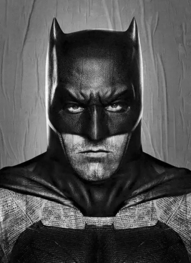 Ben Affleck como Batman. 😍