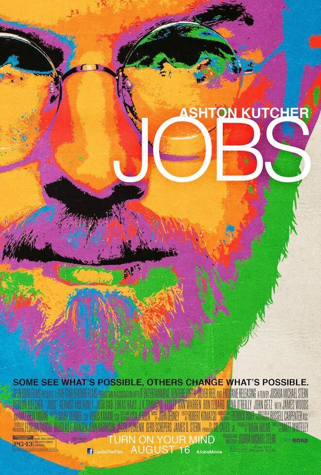 Ya tenemos cartel para el biopic sobre Steve Jobs protagonizado por Ashton Kutcher. ¿Morderéis la manzana?