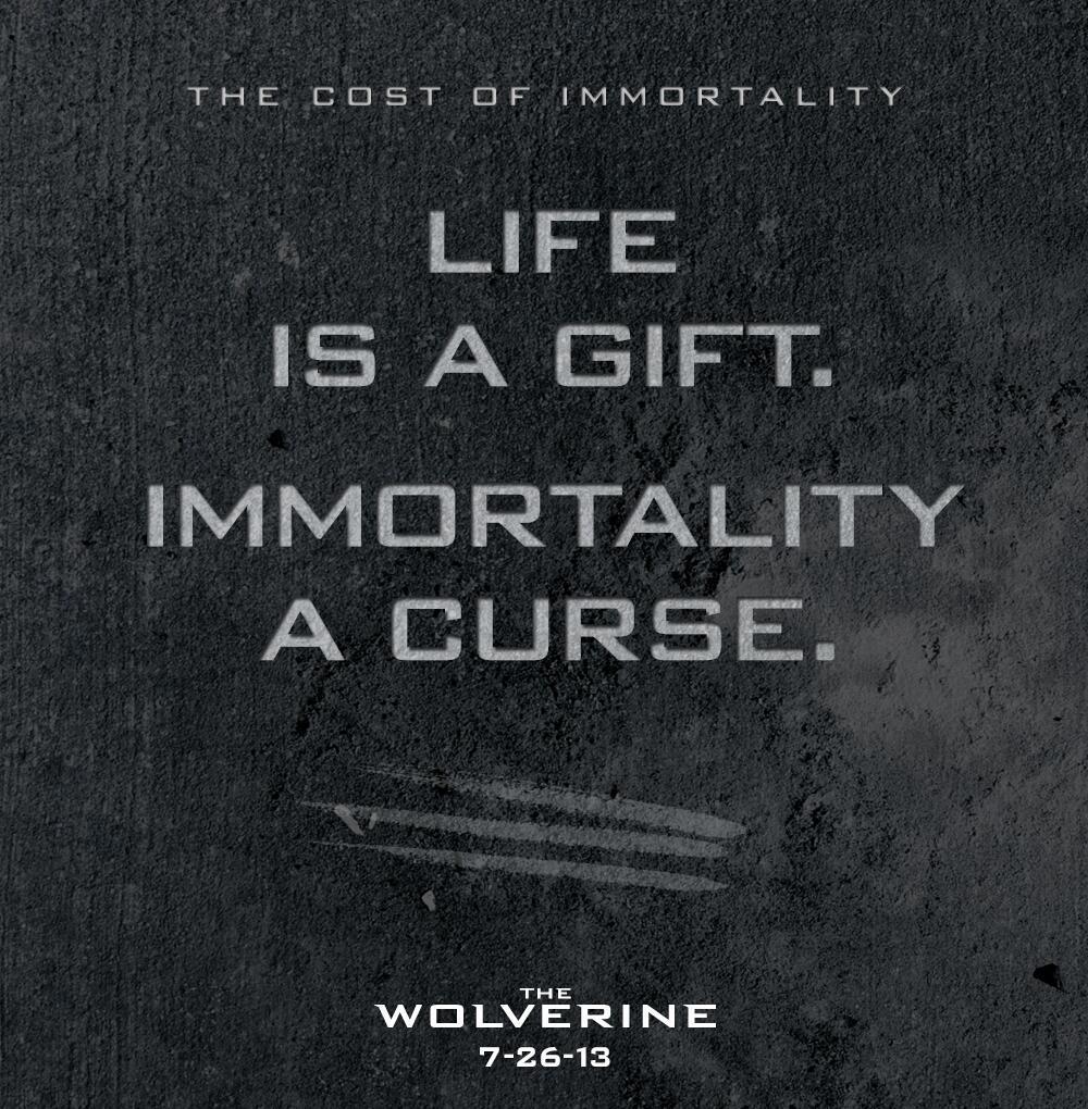 El nuevo poster de LOBEZNO INMORTAL no se lo han currado mucho.